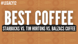 tim horton vs starbucks Which coffee gives the biggest bang for the buck jun 14, 2010 the caffeine figures from starbucks and tim hortons are posted on their websites.