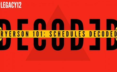 Schedules Decoded