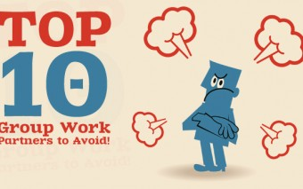 Top 10 Group Work Partners to Avoid