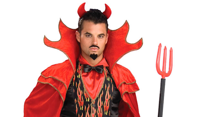 Diy easy peasy halloween costume ru student life diy devil solutioingenieria Image collections