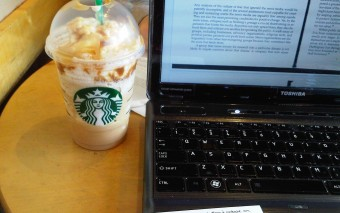 Study Distractions @ Starbucks