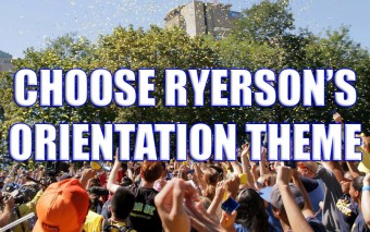 Choose Ryerson's Orientation Theme!