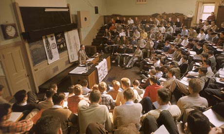 lecture at an american college 1949