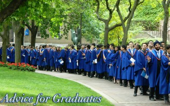 Advice to Graduates from Jen G