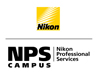 Nikon Professional Services icon with link to website