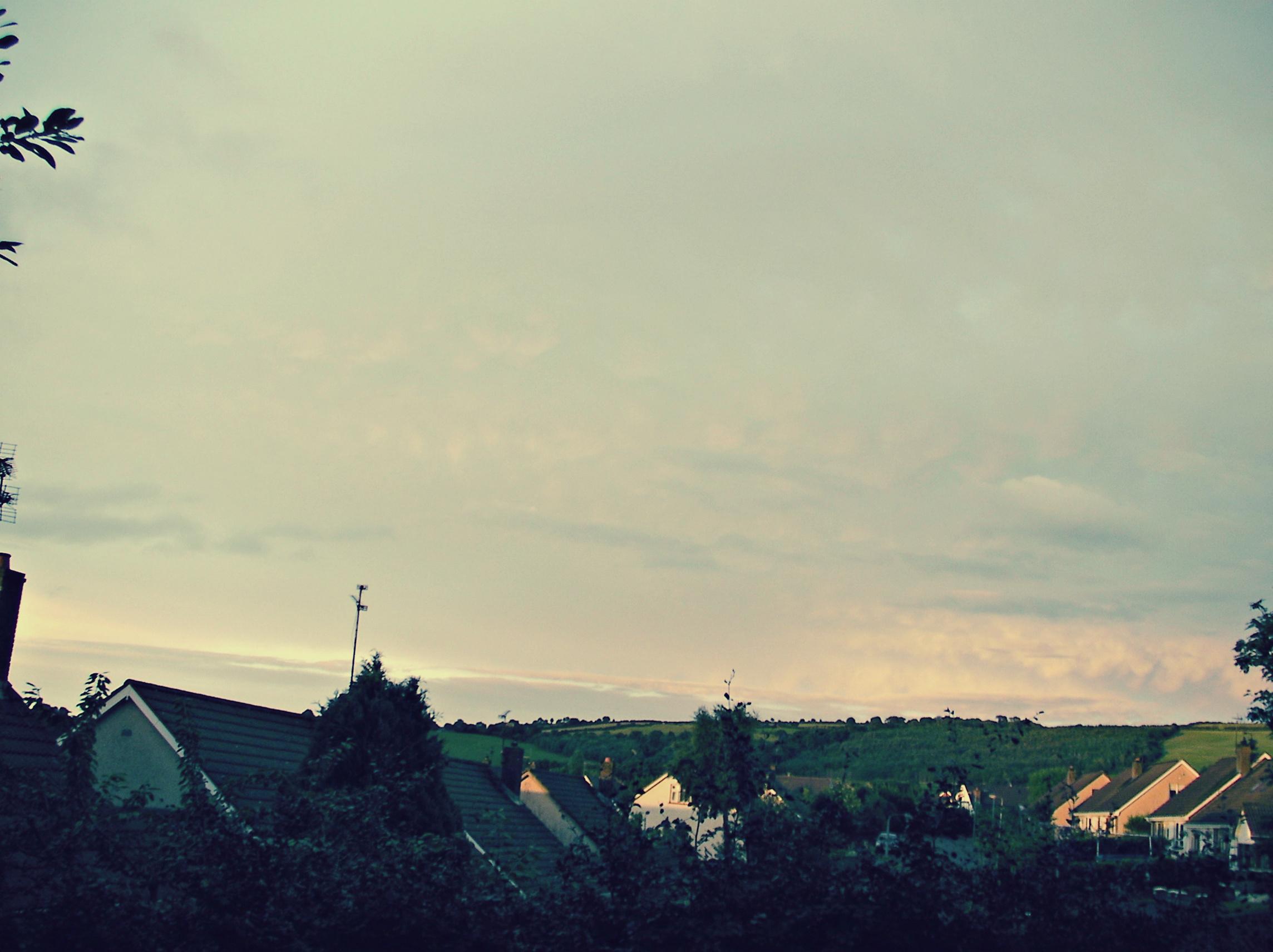 View from my bedroom window in Ireland