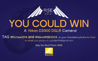 Win a Nikon D3300 DSLR at RISE2014!