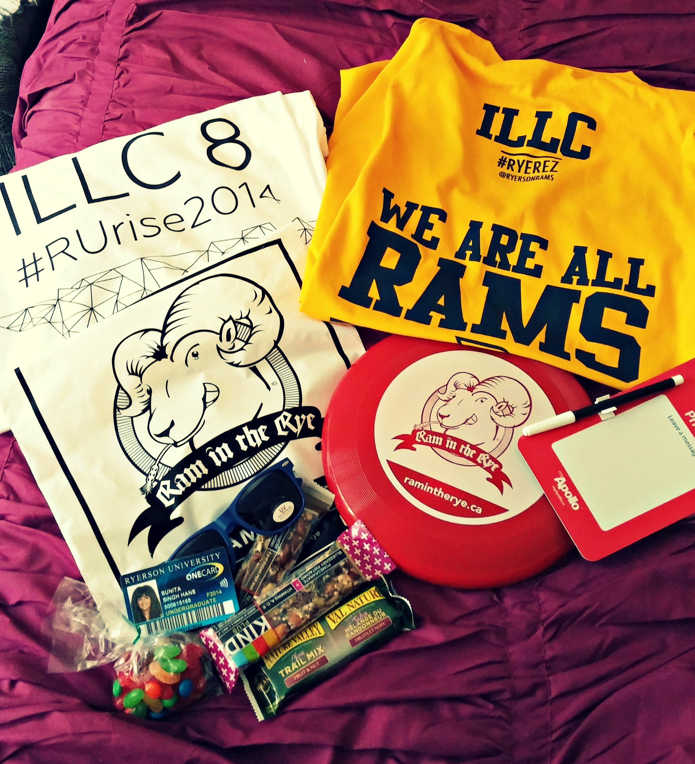 Welcome package from ILLC!