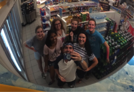Late night adventure – with Jill, Julia, Sawyer, Keely, Evelyn, and Colin!