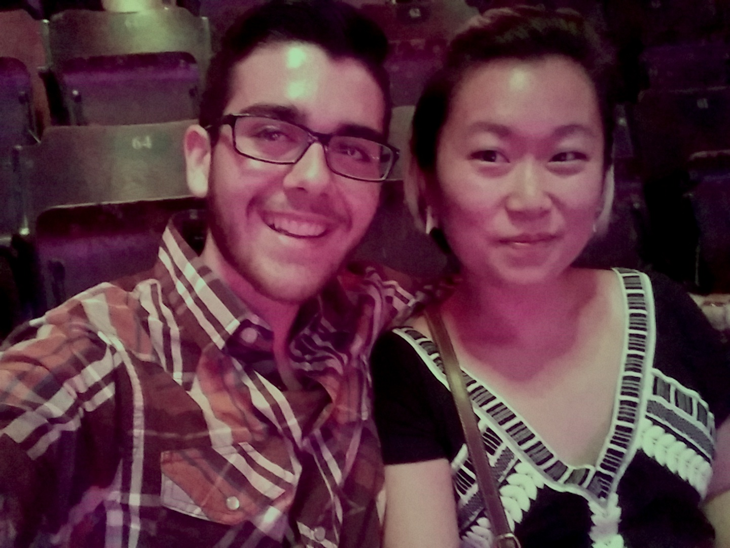 ​Mikael and I at an Ellie Goulding and Haim concert!