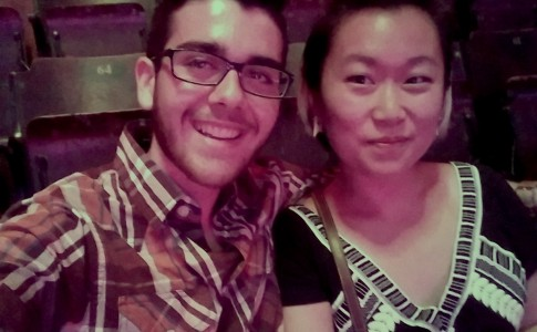 Mikael and I at an Ellie Goulding and Haim concert!