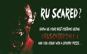 #RUScared2014 Halloween Costume Contest