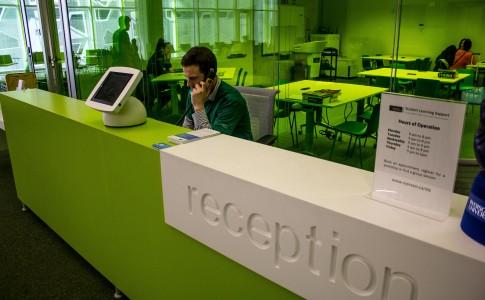 Jonathan at Reception