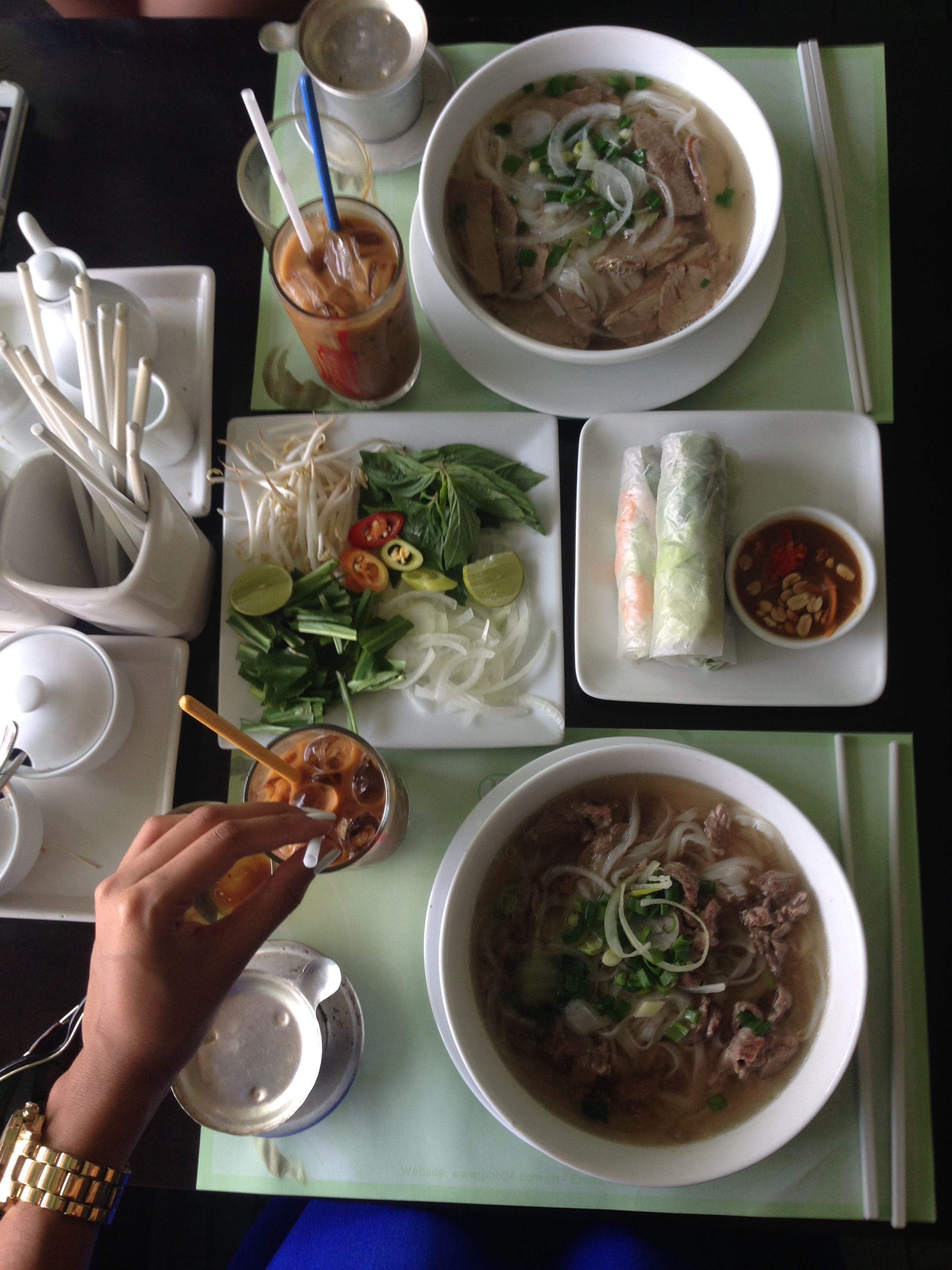 Image of Jasmin's pho breakfast