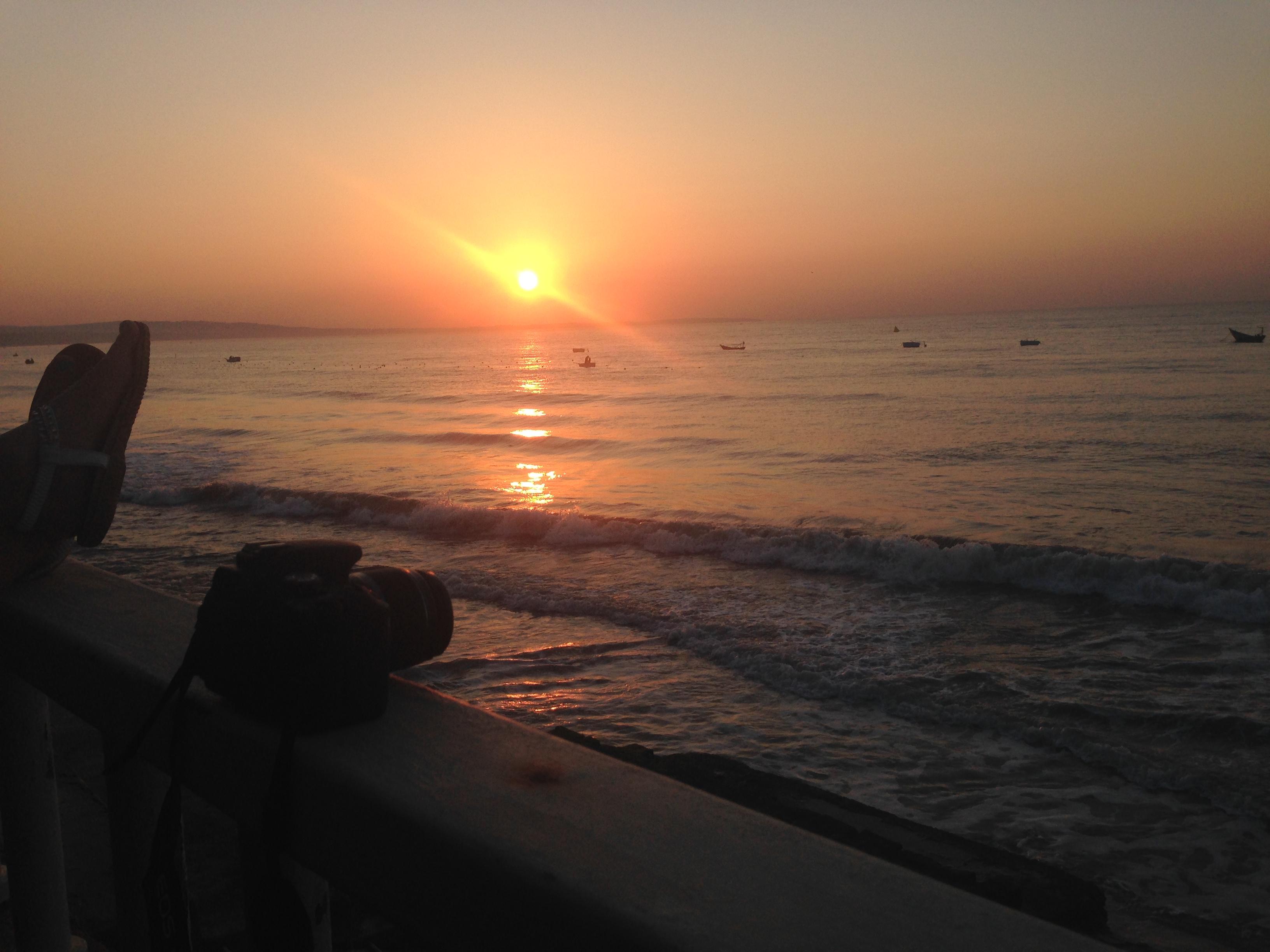 Jasmin's photo of the sunrise