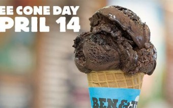 Ben & Jerry's Free Cone Day Comes to Ryerson