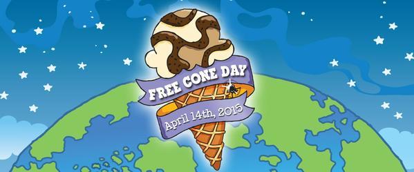 free cone day 2