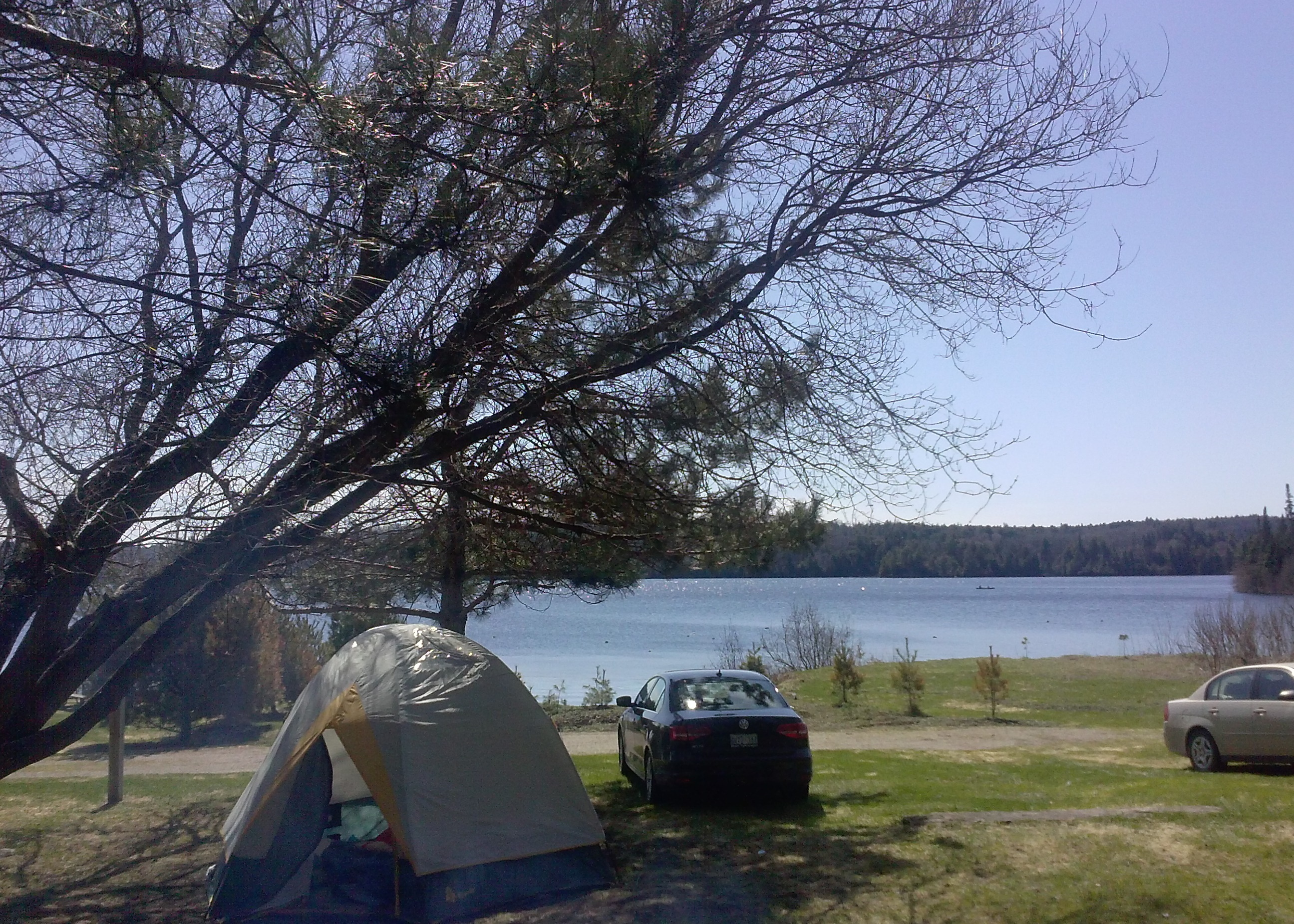 View of our campsite