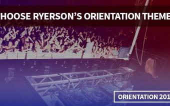 Choose Ryerson's Orientation Theme!