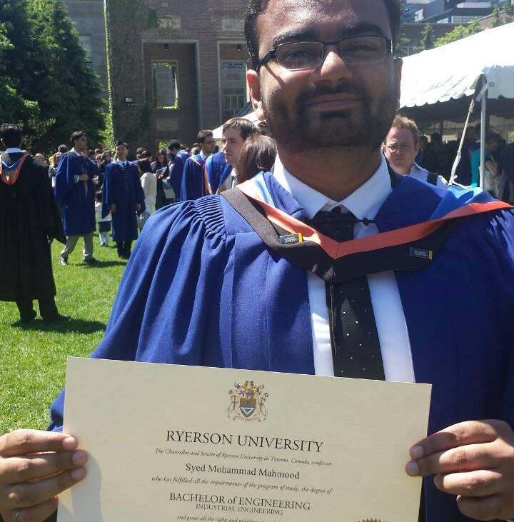 4 I graduated!