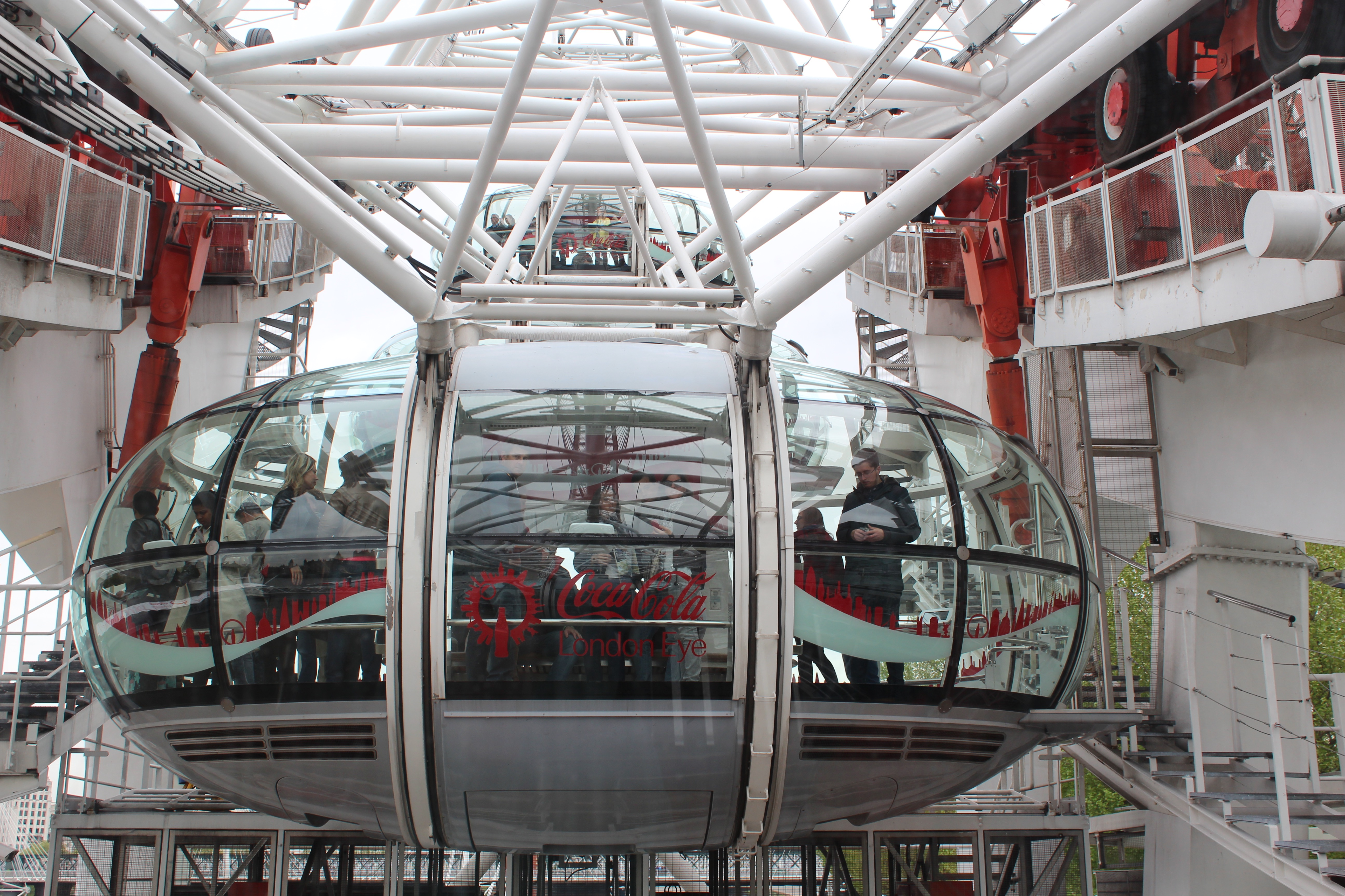 Justin on the London Eye