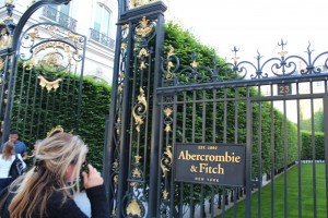 The Entrance to Abercrombie and Fitch
