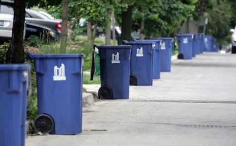 Photo of recycling bins Toronto