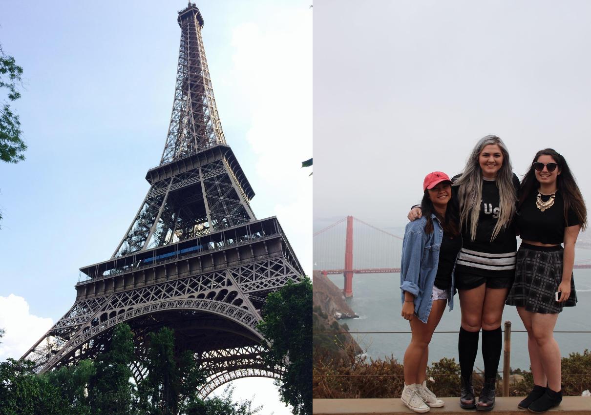 Paris and San Francisco