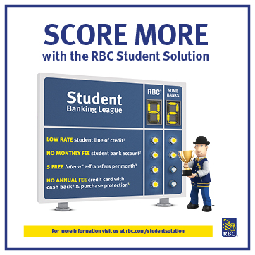 Score more with RBC Student Soloution