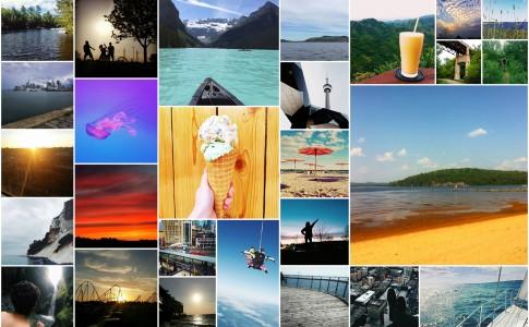 rudaysofsummer collage