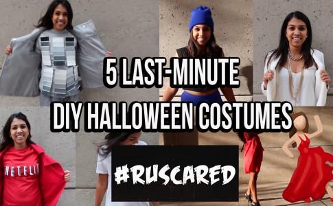 5 DIY Halloween Costumes