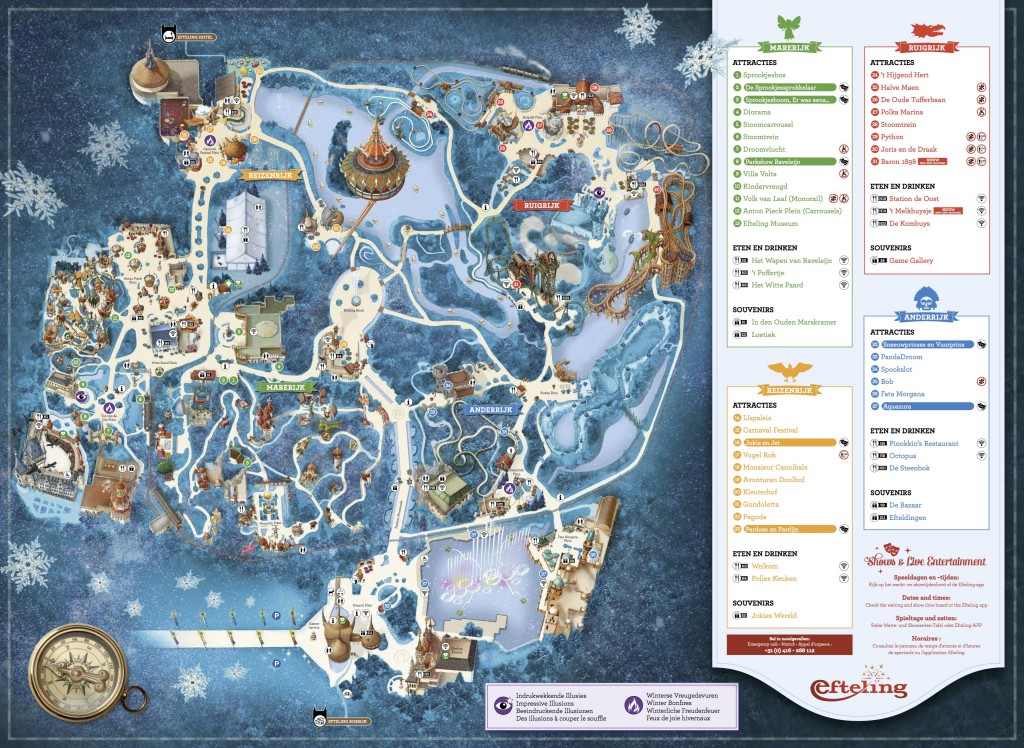Internetversie plattegrond winter