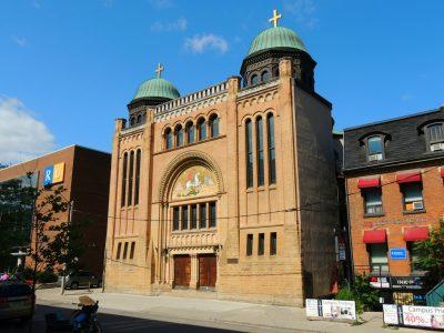 A photo of St George's Greek Orthodox Church, established in 1909