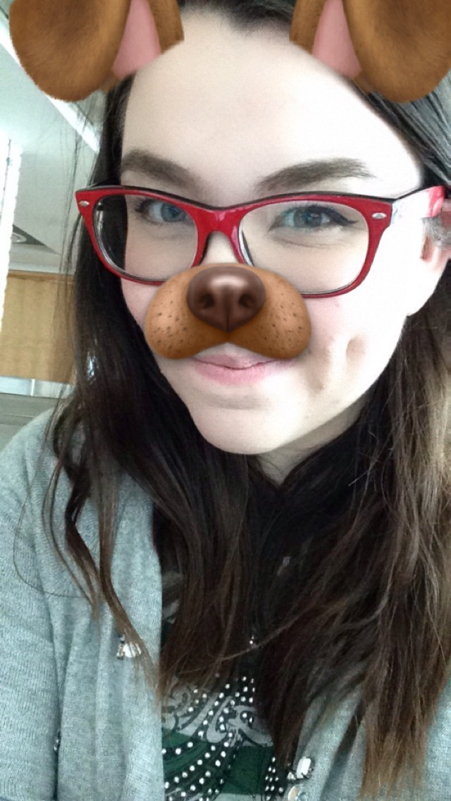 I was really excited to have my first class in SID, so the dog filter was just necessary.