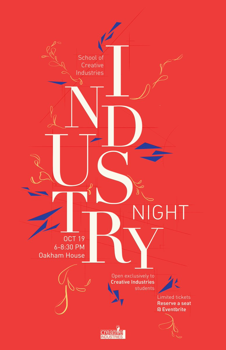 Industry Night Poster