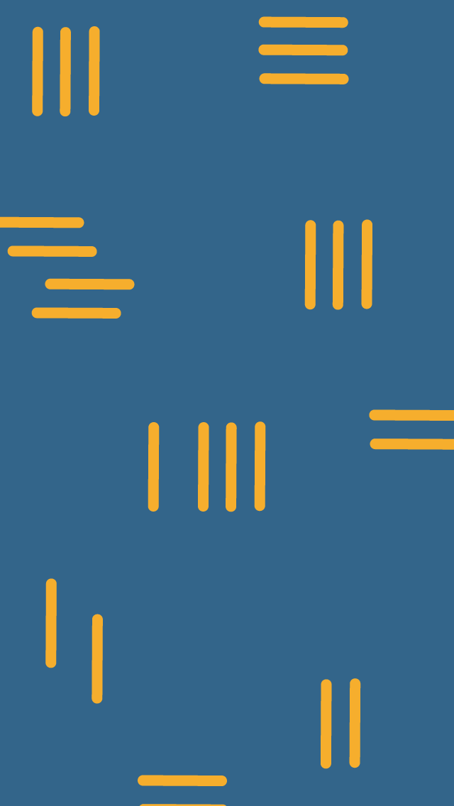 A blue background with yellow lines across it