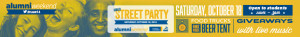 Gould Street Party Alumni Weekend Banner