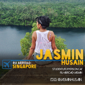 Jasmin's Social Card for RU Abroad