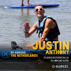 Justin's Social Card for RU Abroad