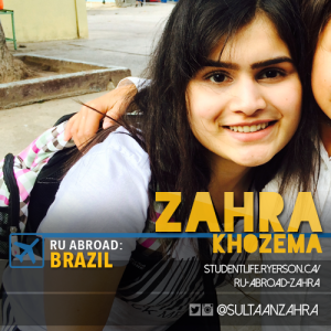 Zahra's Social Card for RU Abroad