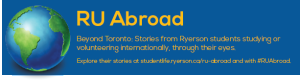 RU Abroad: Sharing international travel stories from Ryerson students