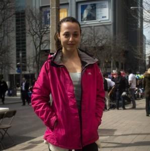 Photo of Alannah on Gould Street