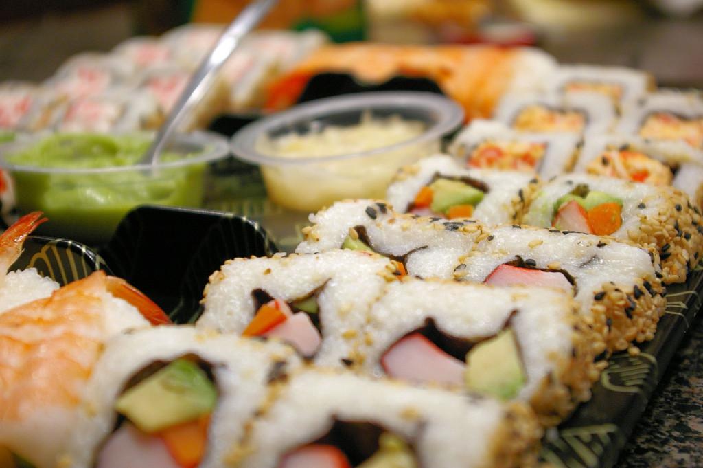 Sushi rolls image
