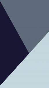a black and grey triangle design