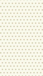 A pale yellow background with small polka dot design