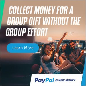 Collect money for a group gift without the group effort. Learn More