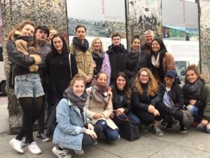A group of students in Berlin