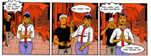 comic strip of sexual harassment by jewels smith