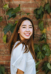 Portrait of Sarah Chew as an RU Student Life team member