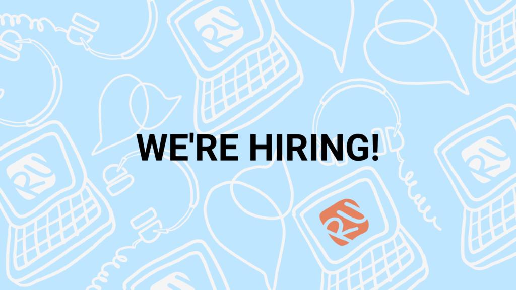 RUStudentLife is hiring!